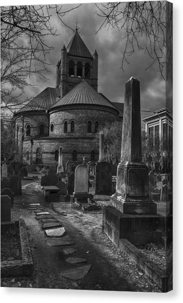 Steps Back In Time Canvas Print