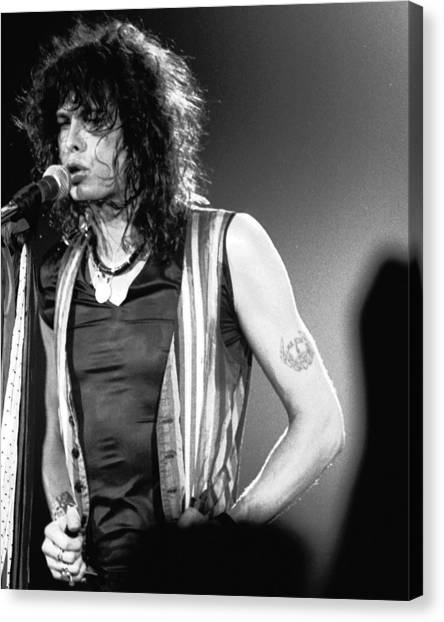 Steven Tyler Canvas Print - Steven In Spokane 1 by Ben Upham