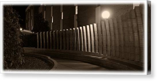 Illinois State University Canvas Print - Stevenson Gate by Abraham Adams Photography