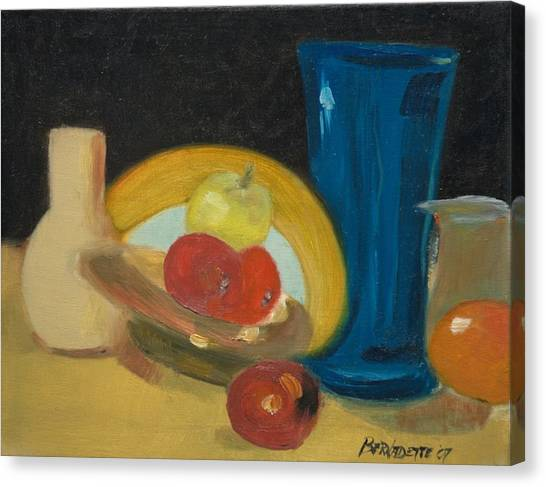 Still Life Of Fruit Canvas Print