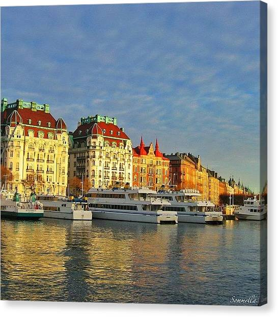 Swedish Canvas Print - Stockholm Winter 2005 by Gianluca Sommella