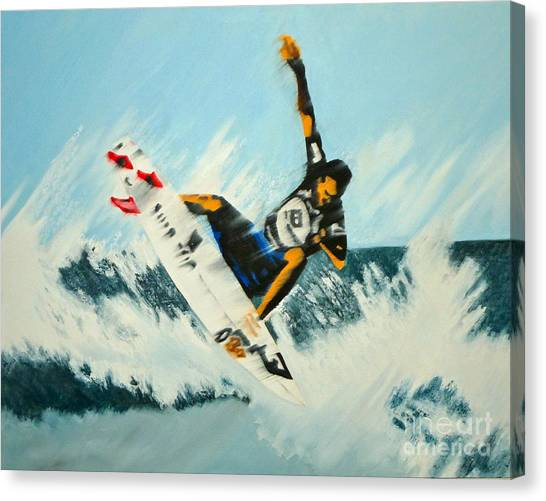 Stomp Um Canvas Print by Alix Barker