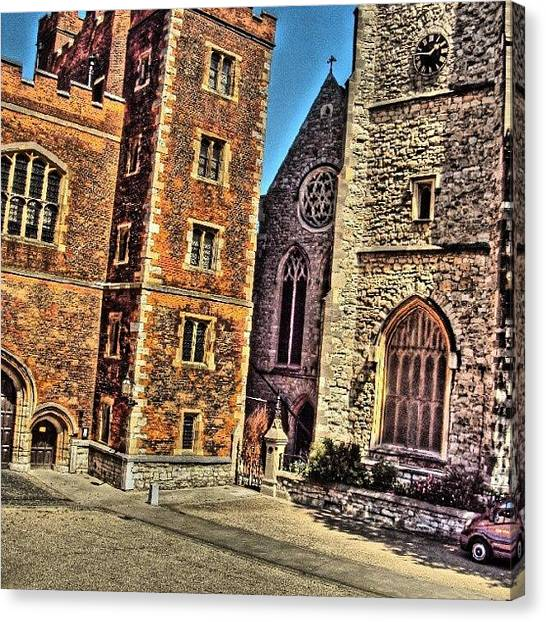London2012 Canvas Print - Stone Buildings, So Classic And Lovely by Abdelrahman Alawwad