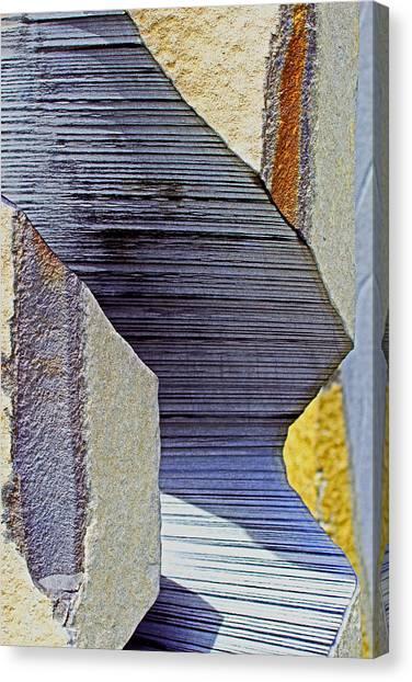 Stone Geometrics Canvas Print