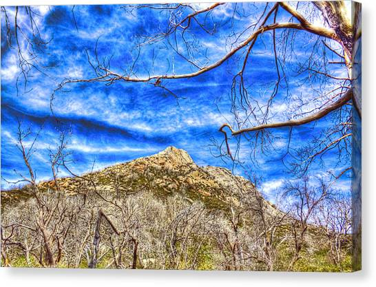 Stonewall Peak Canvas Print by Jeffery Reynolds
