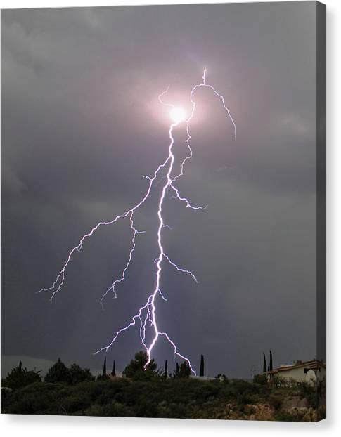 Storm Bolt Canvas Print