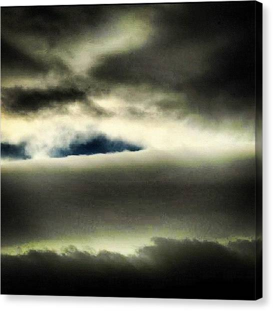 Rainclouds Canvas Print - Storm Clouds by Brent McGilvary