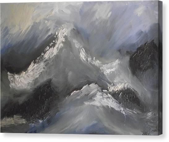 Storm Gathering Canvas Print