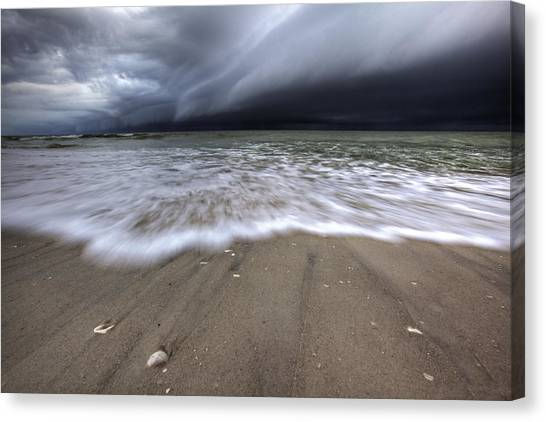 Storm Rolling Canvas Print