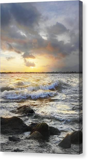 Storm Waves Canvas Print