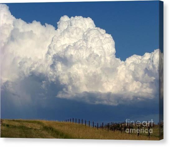 Storm's A Brewin' Canvas Print