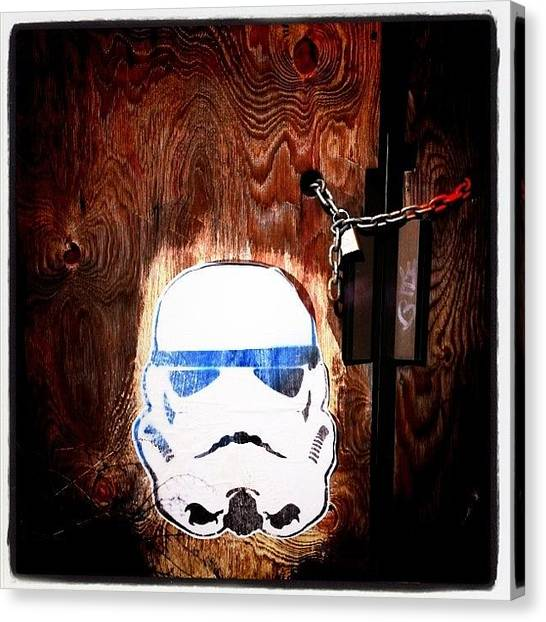 Stormtrooper Canvas Print - Stormtrooper by Cassie OToole