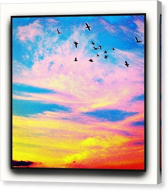 Beauty Canvas Print - Storybook Sky by Paul Cutright