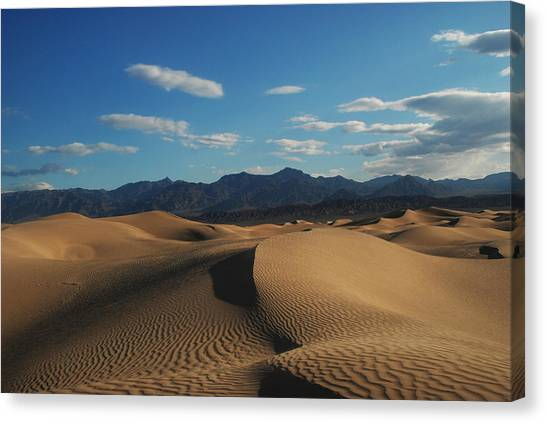 Stovepipe Wells Dunes  Canvas Print