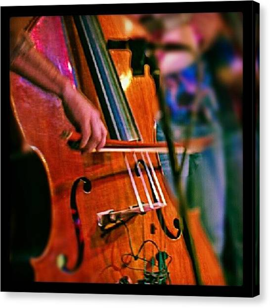 Largemouth Bass Canvas Print - Stowaways, Monday Nights by Chris T Darling