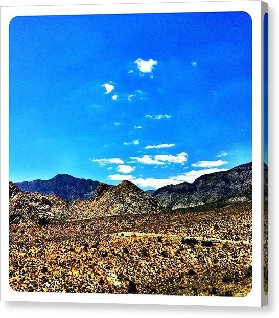 Geology Canvas Print - Stranger Clouds by S Michelle Reese