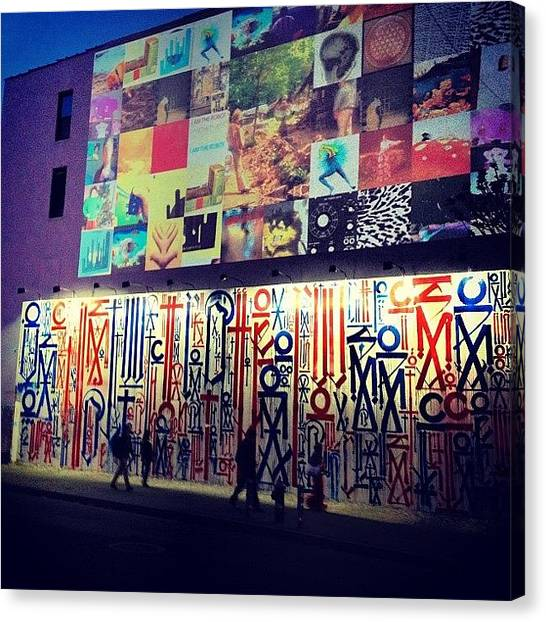 Graffiti Canvas Print - Street Art - Lower East Side - New York City by Vivienne Gucwa