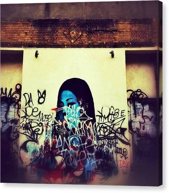 Graffiti Canvas Print - Street Art And Graffiti - New York City by Vivienne Gucwa