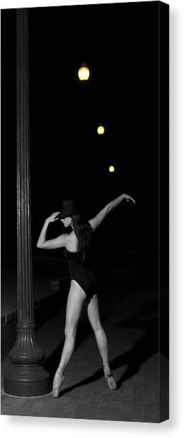 Street Ballet Canvas Print