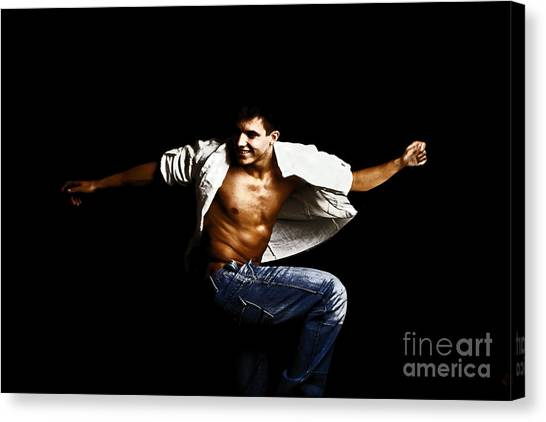 Street Dancer Canvas Print