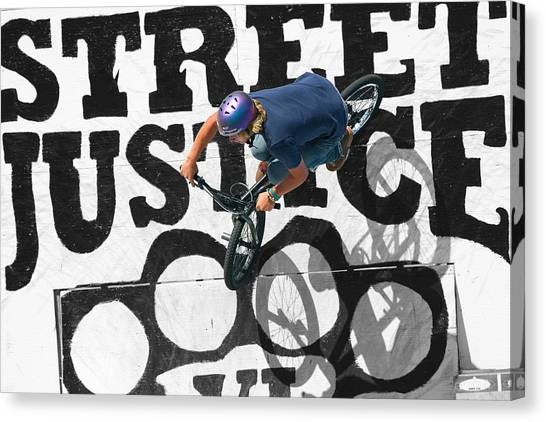 Street Justice Canvas Print