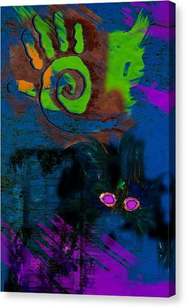 Strong Gris Gris Canvas Print