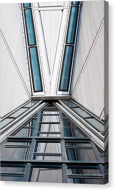 Structure Reflections Canvas Print