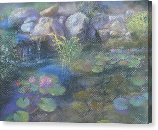 Study For Water Garden Canvas Print