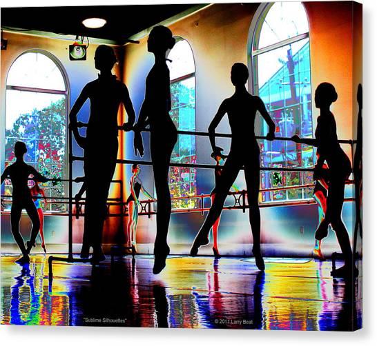 Sublime Silhouettes Canvas Print