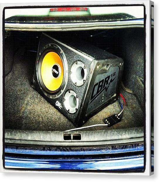 Audi Canvas Print - #subs #music #audi #instadaily by Jamie Gladish