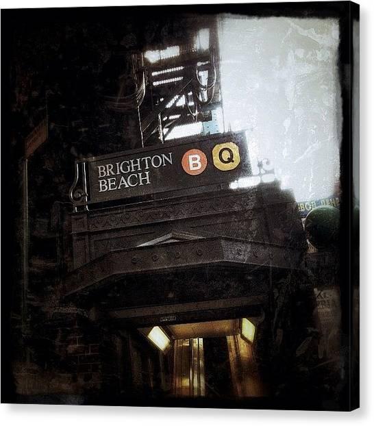 Subway Canvas Print - Subway by Natasha Marco