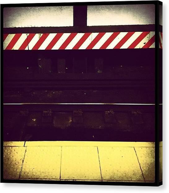 Subway Canvas Print - Subway Tracks by Natasha Marco