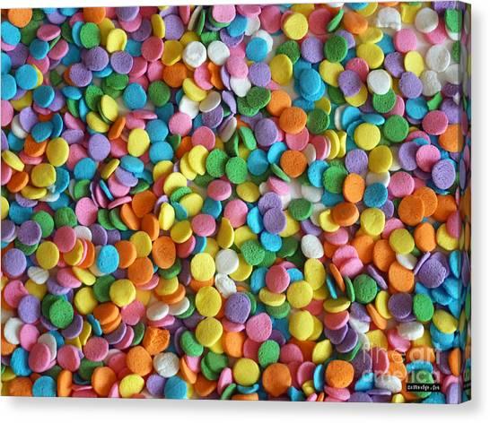 Sugar Confetti Canvas Print