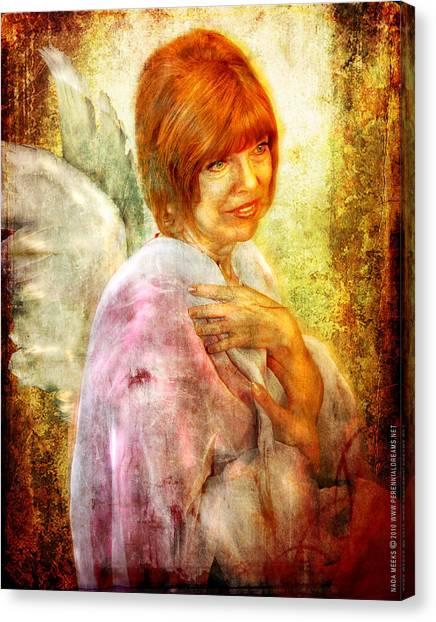 Sullivan. Angel Canvas Print