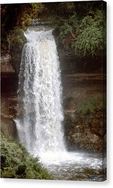 Summer Falls Canvas Print