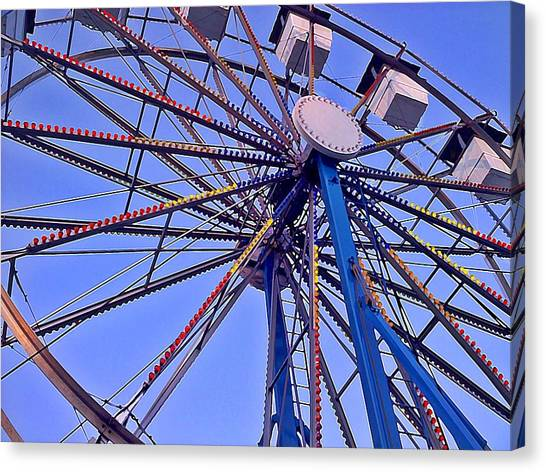 Summer Festival Ferris Wheel Canvas Print