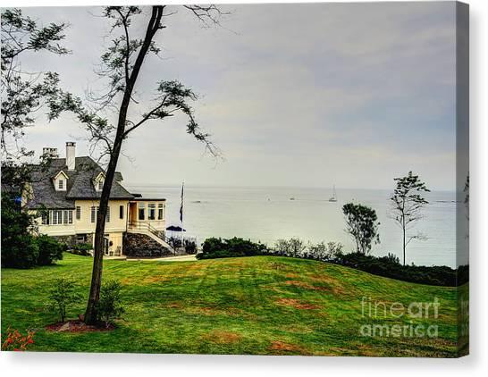 Summer Horizon Canvas Print