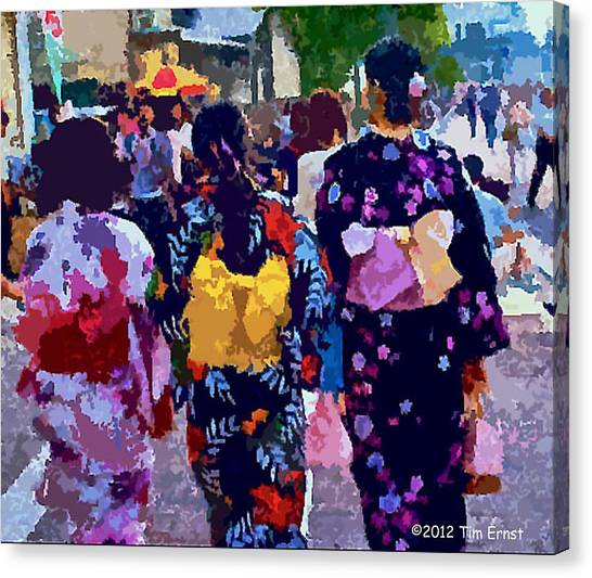 Summer In Japan Canvas Print