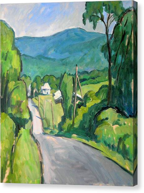 Summer In The Berkshires Canvas Print