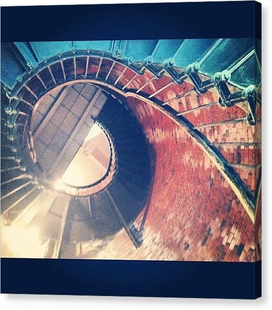 Spiral Canvas Print - #summer #massachusetts #instagood by Eva Martinez
