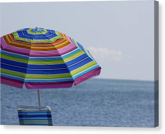 Summertime Canvas Print by Amy Holmes