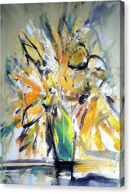 Sun Flower Day Canvas Print