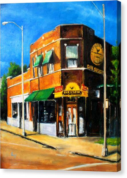Sun Studio - Day Canvas Print