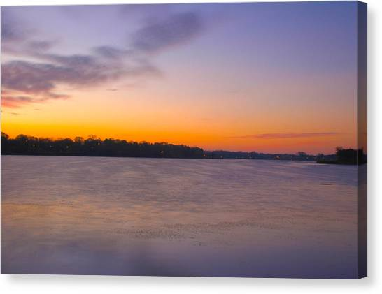 Sun Up Canvas Print