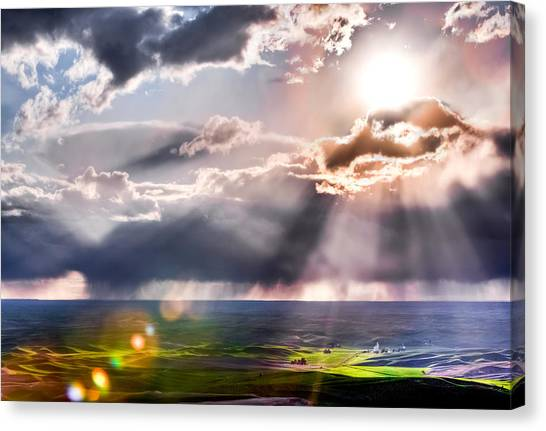 Sunburst 2 Canvas Print