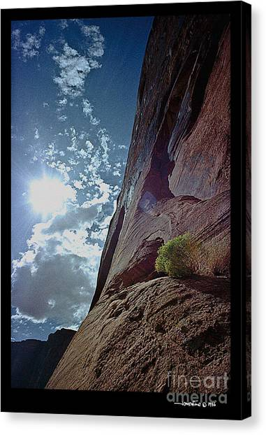 Suncliff Canvas Print