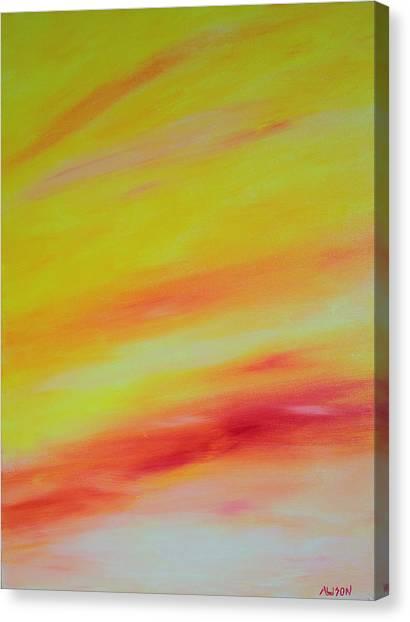 Sundunes Canvas Print by Tony Allison