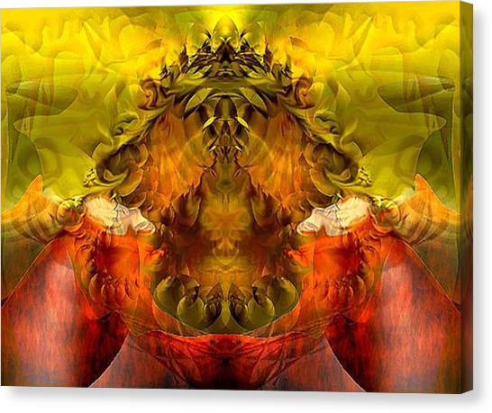 Sunflower Canvas Print by Dave Kwinter