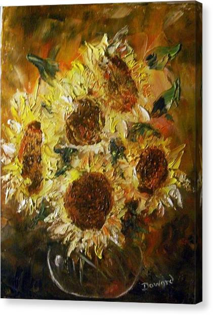 Sunflowers 2 Canvas Print