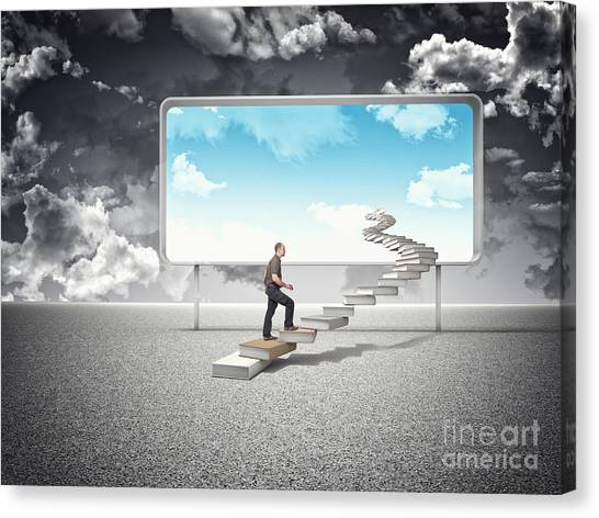 Sunny Future Canvas Print